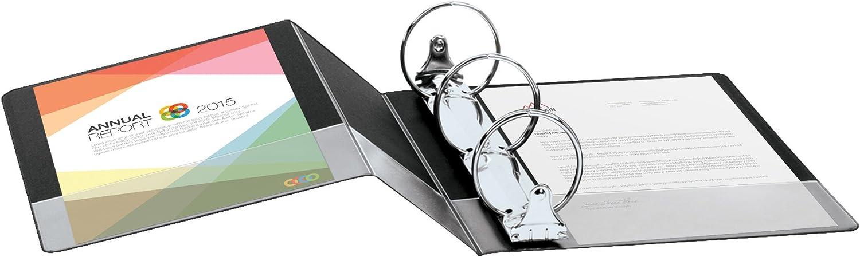Case of 12 Binders Black Cardinal Performer Reference Non-Locking Round Ring Binder 72711 1-Inch