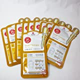Leaders Insolution Snail Therapy Skin Clinic Face Mask 10pcs