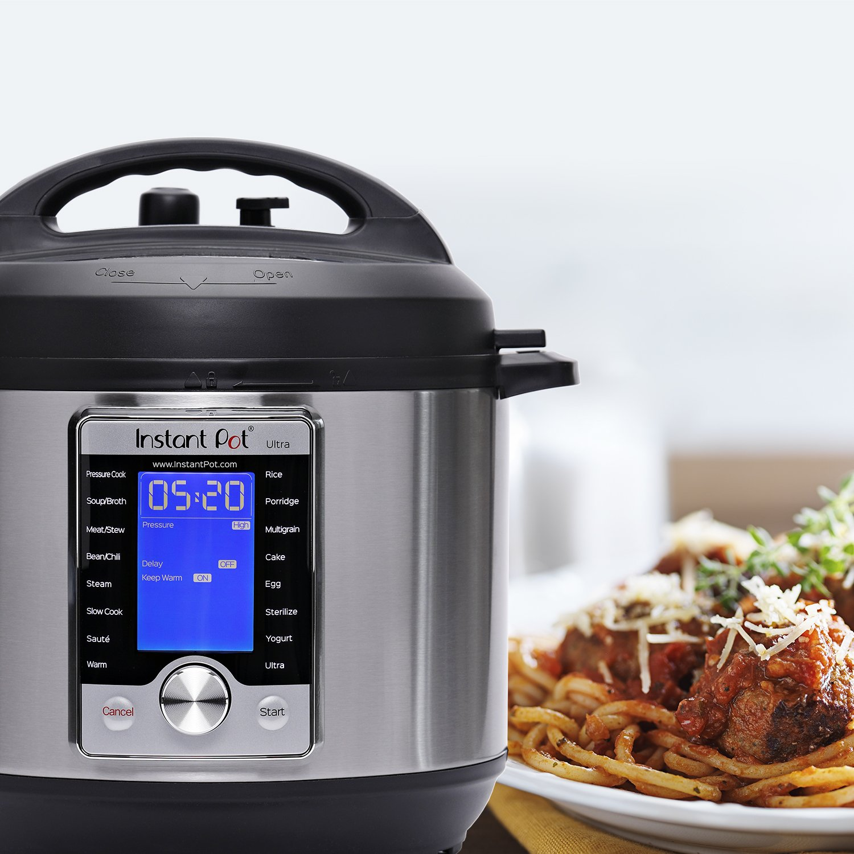 Instant Pot Ultra 6 Qt 10-in-1 Multi- Use Programmable Pressure Cooker, Slow Cooker, Rice Cooker, Yogurt Maker, Cake Maker, Egg Cooker, Sauté, Steamer, Warmer, and Sterilizer by Instant Pot (Image #8)