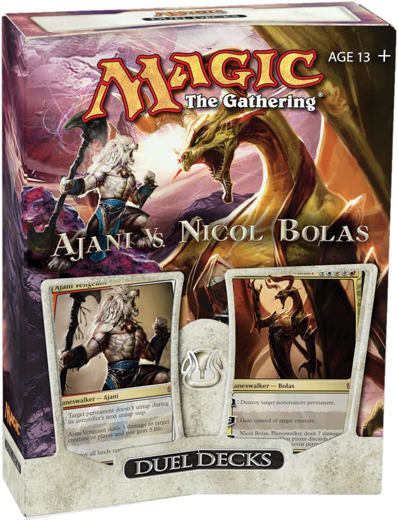 Magic The Gathering: Duel Decks - Ajani vs. Nicol Bolas