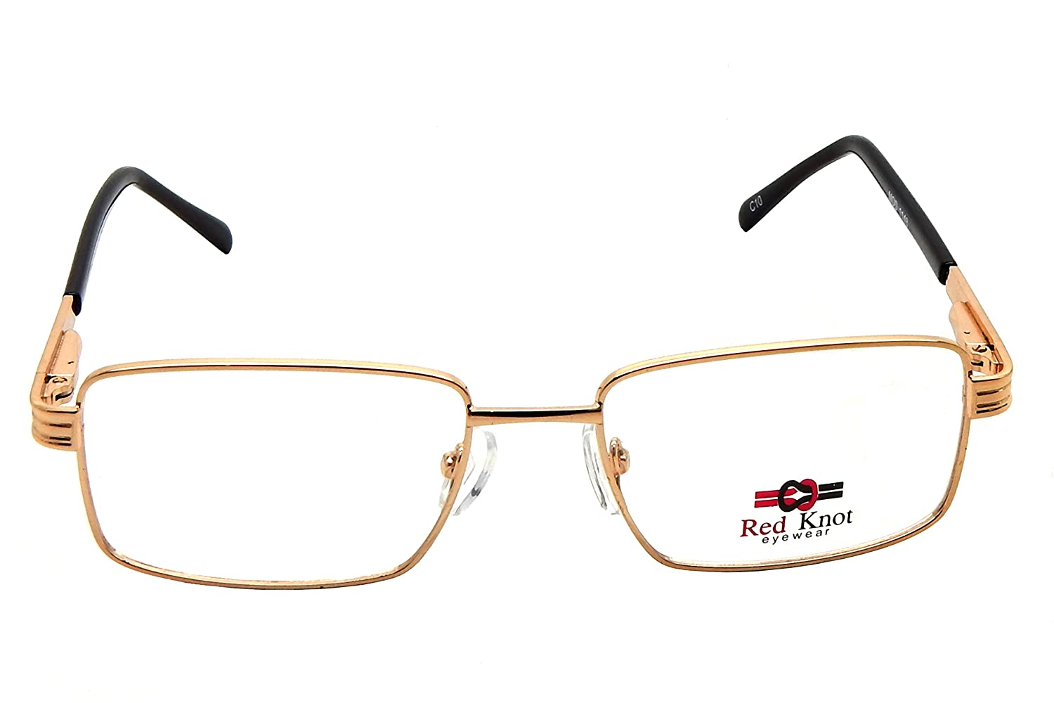 Red Knot Full Rim Golden Metal Spetacle Frames Mod 1148 Redknot Shoes Tech Brown Clothing Accessories