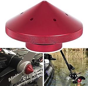 Eliminator Trolling Motor Prop Nut Custom Fit MinnKota 80, 101 and 112 lb Models (Red)