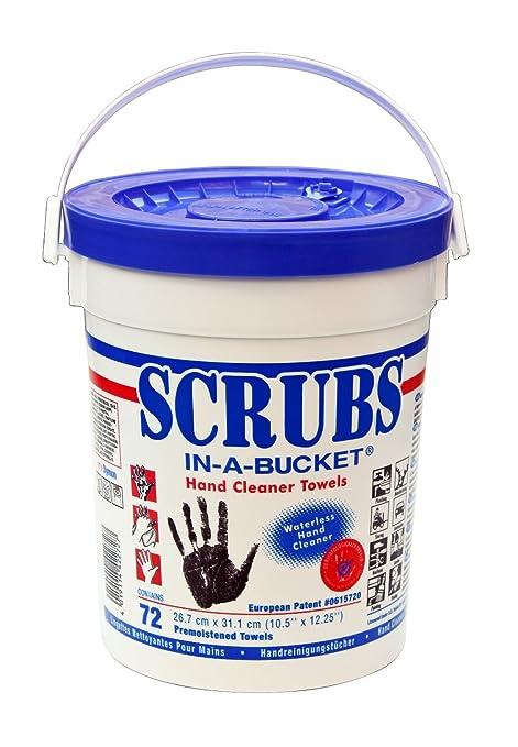 ITW DY42272 - Toallas húmedas Scrubs In-a-Bucket para limpiar las manos,