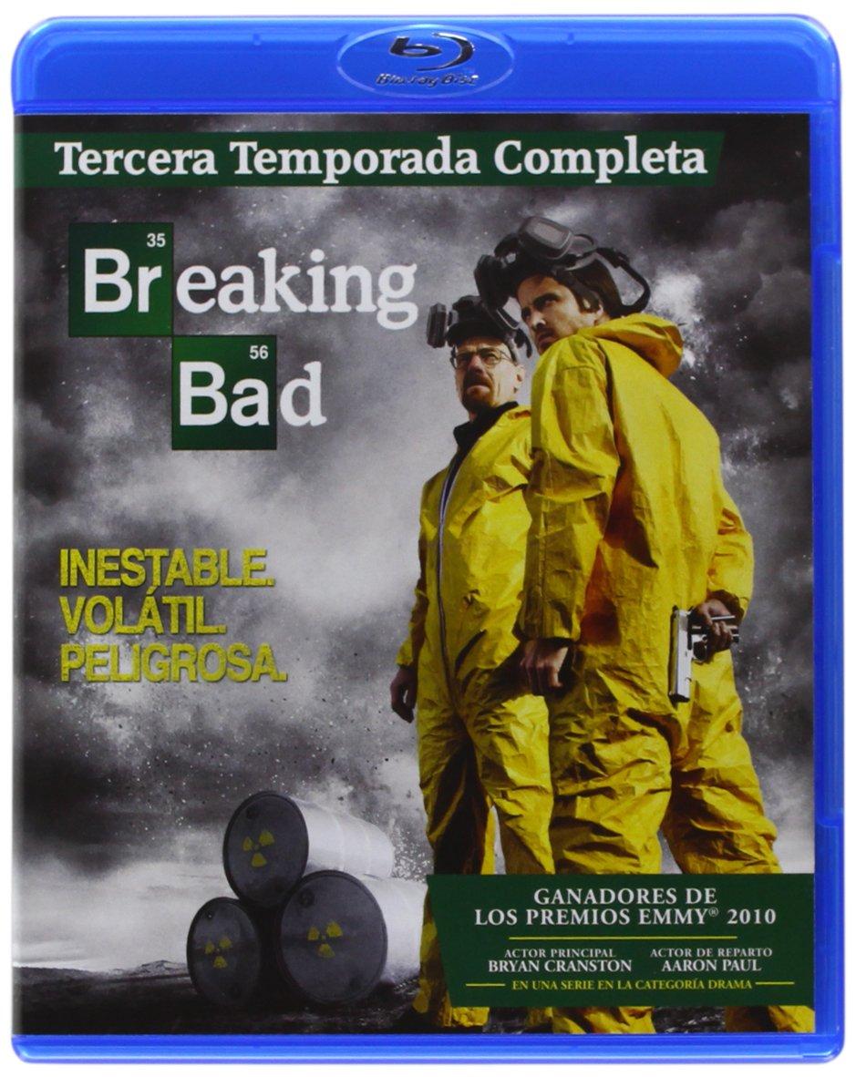 Breaking Bad T3 - Bd Tri [Blu-ray]: Amazon.es: Bryan Cranston, Anna Gun, Aaron Paul, Vince Gilligan, Bryan Cranston, Anna Gun, Melissa Bernstein: Cine y Series TV