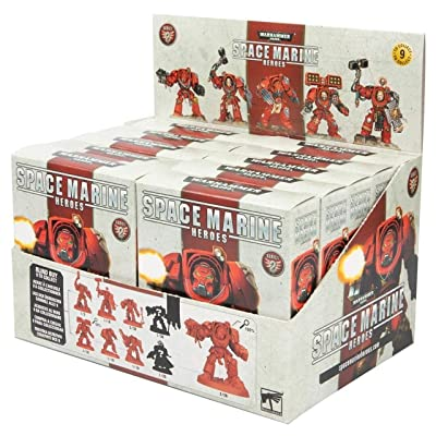 Games Workshop Citadel Space Marine Heroes: Rest of The World Series 2 - Case of 10 Blind Boxes (Sealed): Toys & Games [5Bkhe0406969]