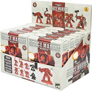 Games WorkShop GAWSMH-02-D Warhammer: Space Marine Heroes - Series 2 Blind Buy Collectable (10pc CDU) Figure 40000-Space Figurine