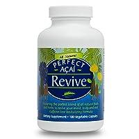 Perfect Revive - Organic Acai, Organic Cordyceps, & 100% Siberian Rhodiola Rosea, 180 Capsules