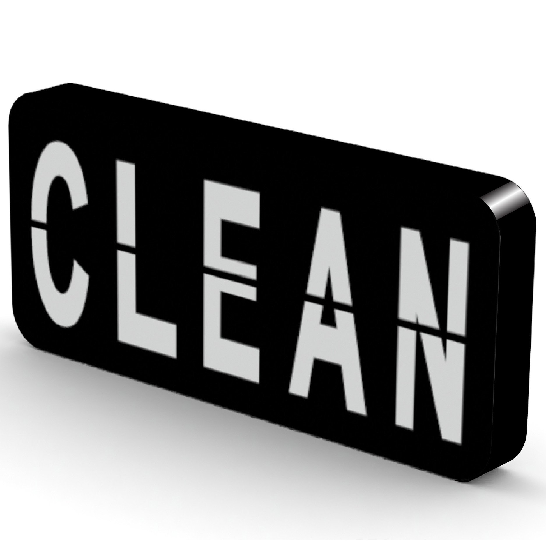 Reversible Double Sided Clean Dirty Dishwasher Magnet - Super Strong, Durable & Waterproof - Premium Kitchen Gadget for Home & Office - Sticks to Stainless Steel - Flip Magnet