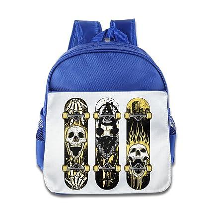 Kids niños mochila bolso libro con Skate patinete de ...
