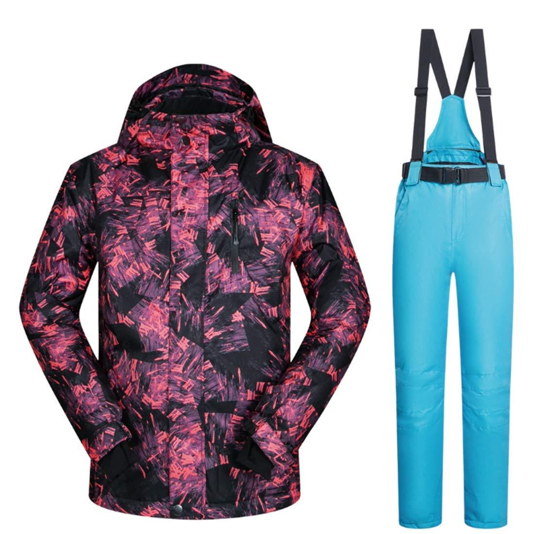 Anglayif Anglayif Anglayif Pantaloni da Snow da Uomo da Trekking, Giacca da Sci Invernale e Pantaloni per la Neve da Pioggia (Coloree   04, Dimensione   M)B07MQDQHJMXXL 04 | Outlet Store  | Sconto  | Primo gruppo di clienti  | Conveniente  | Aspetto piacevole  | Tecno 0c7dd2
