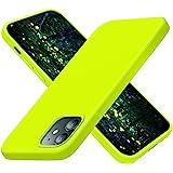 Cordking Capa projetada para iPhone 12, capa projetada para iPhone 12 Pro, capa de telefone fina de silicone à prova de choqu