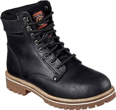 skechers steel toe boots