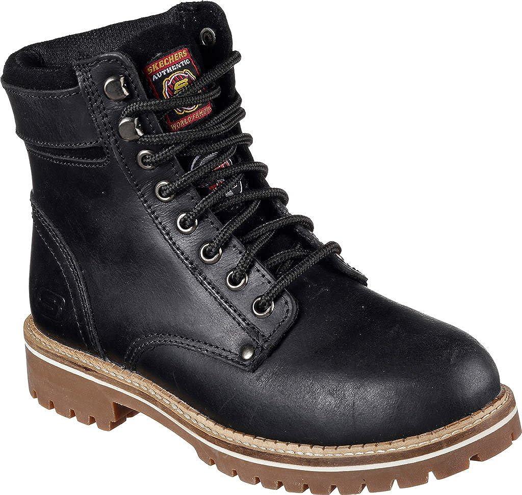 c49fcbbd737 Amazon.com | Skechers Women's Work Brooten Steel Toe Boot | Boots
