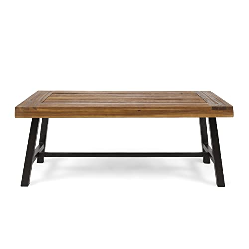 Christopher Knight Home 304571 Carlisle Outdoor Acacia Wood Coffee Table