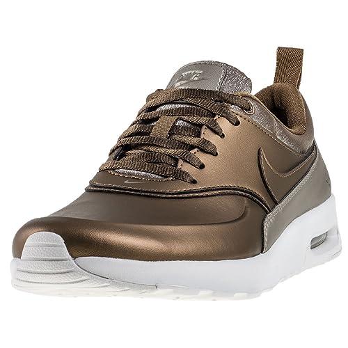 Nike Air Max Thea Premium Scarpe da donna, Oro (metallic