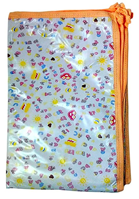 Buy Baby Bath & Hold Towel with Plastic Sheet Online at Low Prices ...