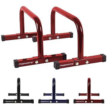MSPORTS Low Fitness Parallettes Mini Lingot Professionnel 60 x 35 x 29 cm ca3ddaf45f2