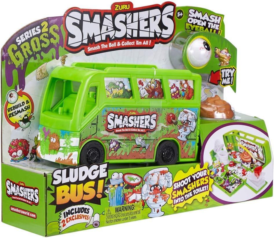 Auldey Smashers Bus Series 2-7418 Smash Ball Sludge Bus ZURU SMASHERS