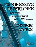 O5426 - Progressive Repertoire for the Double Bass: Piano Accompaniment, Vol. 1