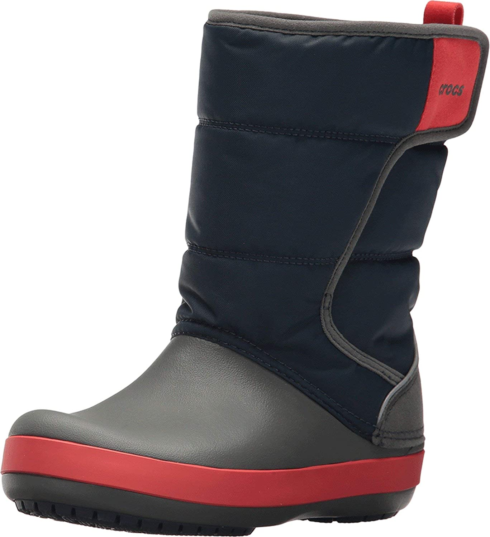 Crocs LodgePoint Snow Boots Kids Blue