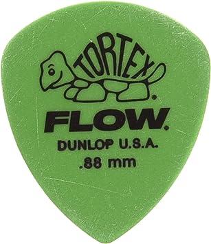 Plectrums 8 x Dunlop Flow Jumbo Guitar Picks 2 Of Each In A Handy Pick Tin