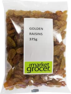 The Market Grocer Golden Raisins, 375 g