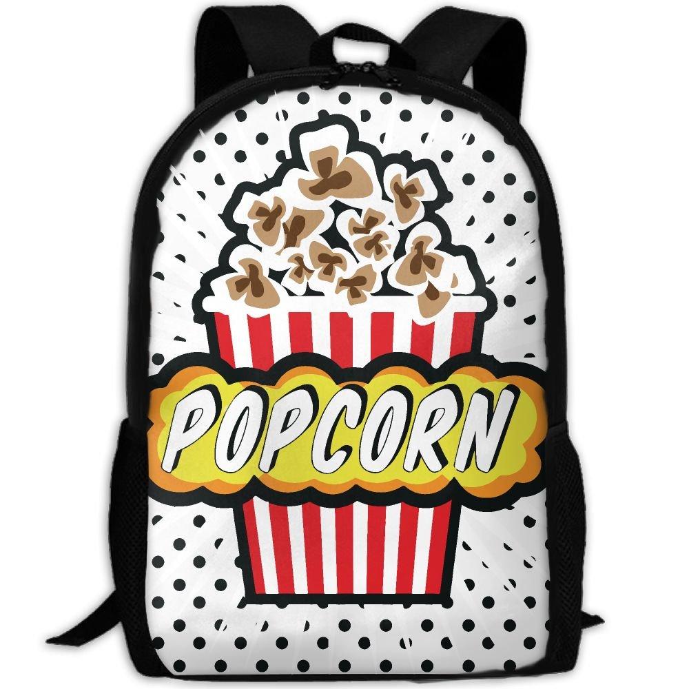 4e897ba910ef ZQBAAD Cartoon Delicious Popcorn Luxury Print Men And Women's Travel ...