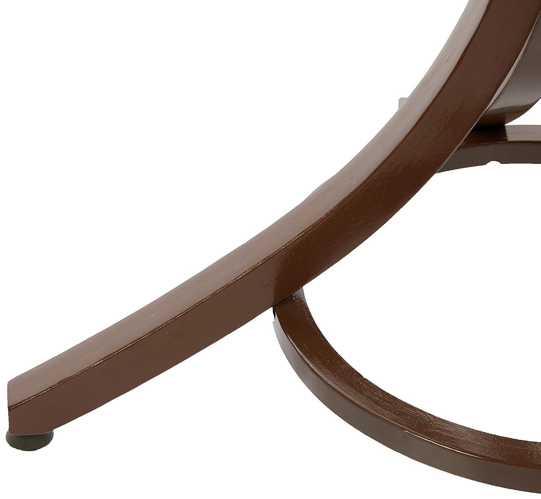 Headbourne Hr8085X - Perchero de pie (con gancho para sombrero y abrigos y soporte para paraguas, efecto de madera de nogal)