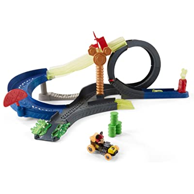 Fisher-Price Disney Mickey and the Roadster Racers Super Charged Mickey Drop & Loop Playset: Toys & Games