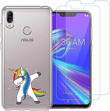 Funda Asus Zenfone Max M2,Unicornio colorido Flexible Suave ...