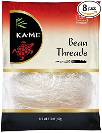 Amazon Com Ka Me Bean Threads 3 75 Ounce Pack Of 8 Noodles