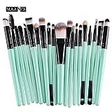 CINIDY 20 pcs Makeup Brush Set tools Make-up