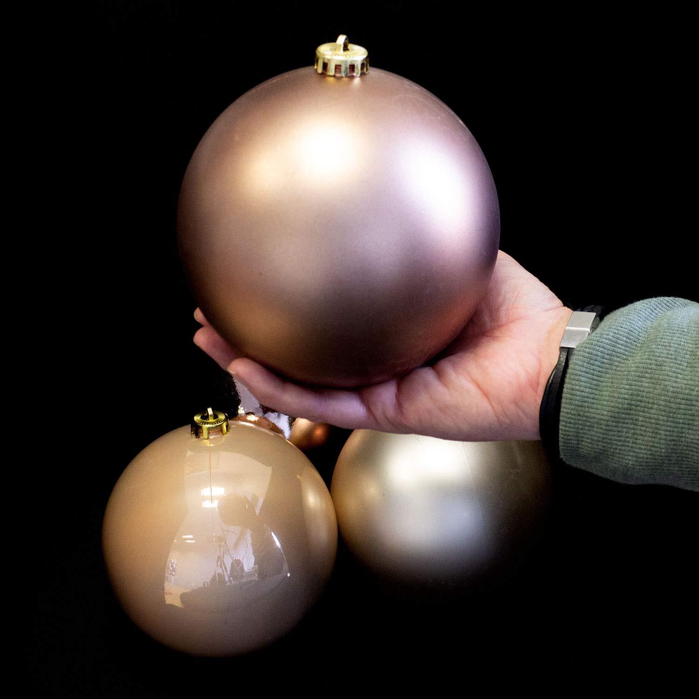 45er Christbaumkugeln Set Weihnachtsbaumkugeln Baumspitze Stern Ø4//5cm Silber 1B