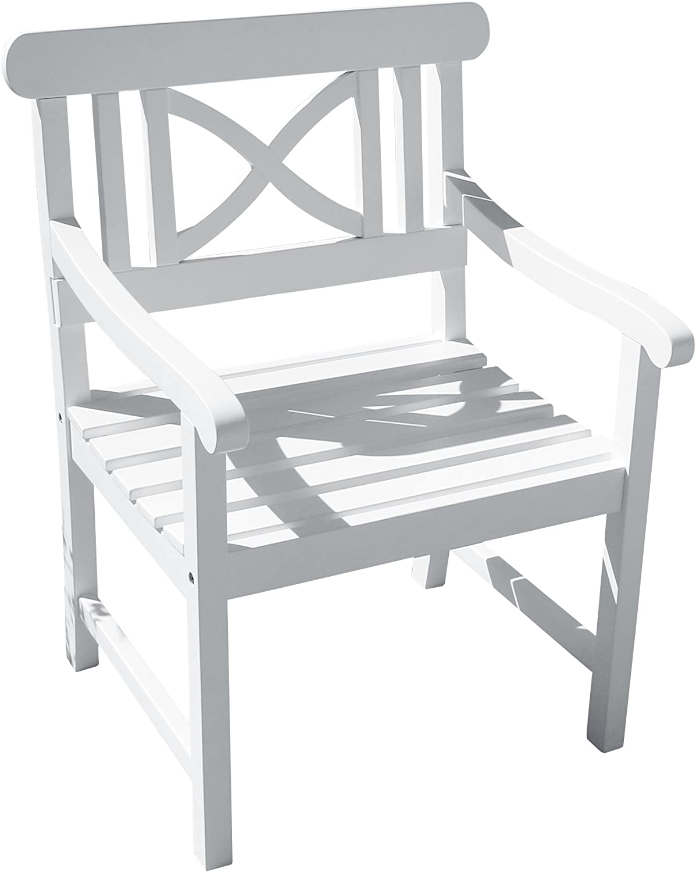 Vifah V1341 Bradley Outdoor Wood Armchair