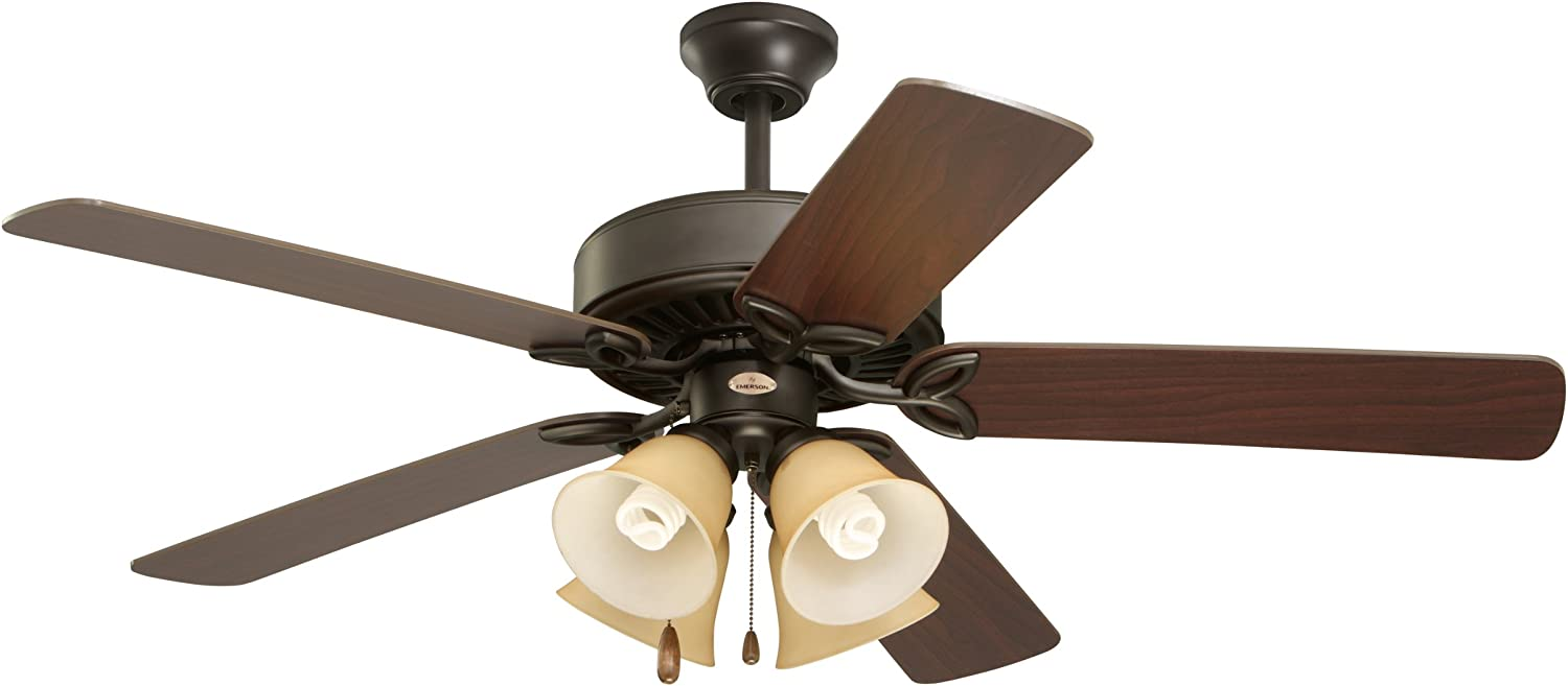 Emerson Pro Series II Indoor Ceiling Fan with Light