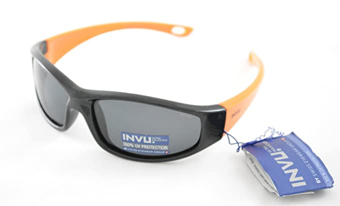 INVU - Lunettes de soleil - Homme noir noir  Amazon.fr  Vêtements et ... 3a8f0efbddd0