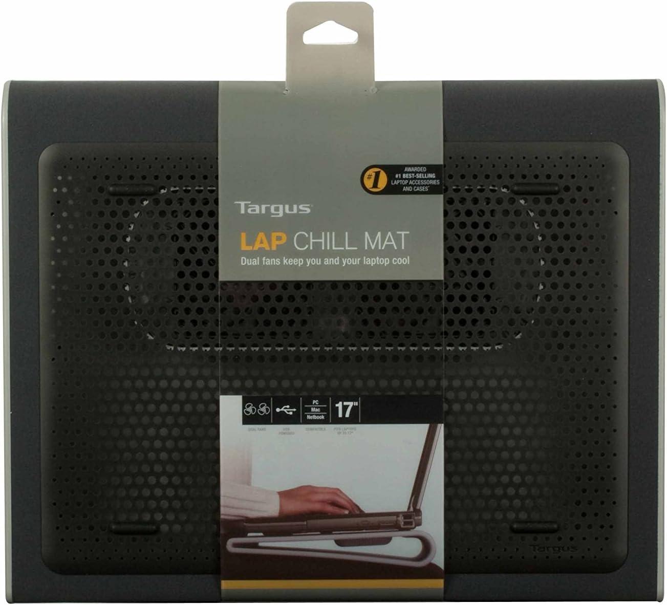 AWE55US Targus Lap Chill Mat for Laptop Black//Gray
