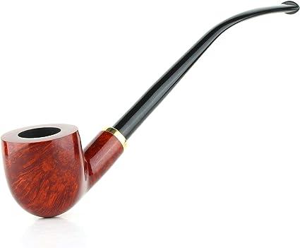 "Mr Brog HAND MADE CHURCHWARDEN  SMOKING PIPE no 114  /"" Constance /"" Brown  BRIAR"