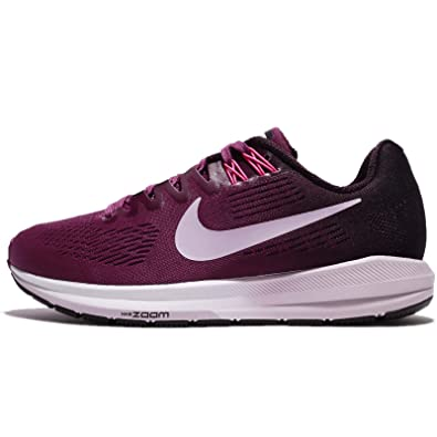 Nike Women s Air Zoom Structure 21 Running Shoe Tea Berry Iced Lilac-Port  Wine 10.0  Amazon.in  Shoes   Handbags a881791d9