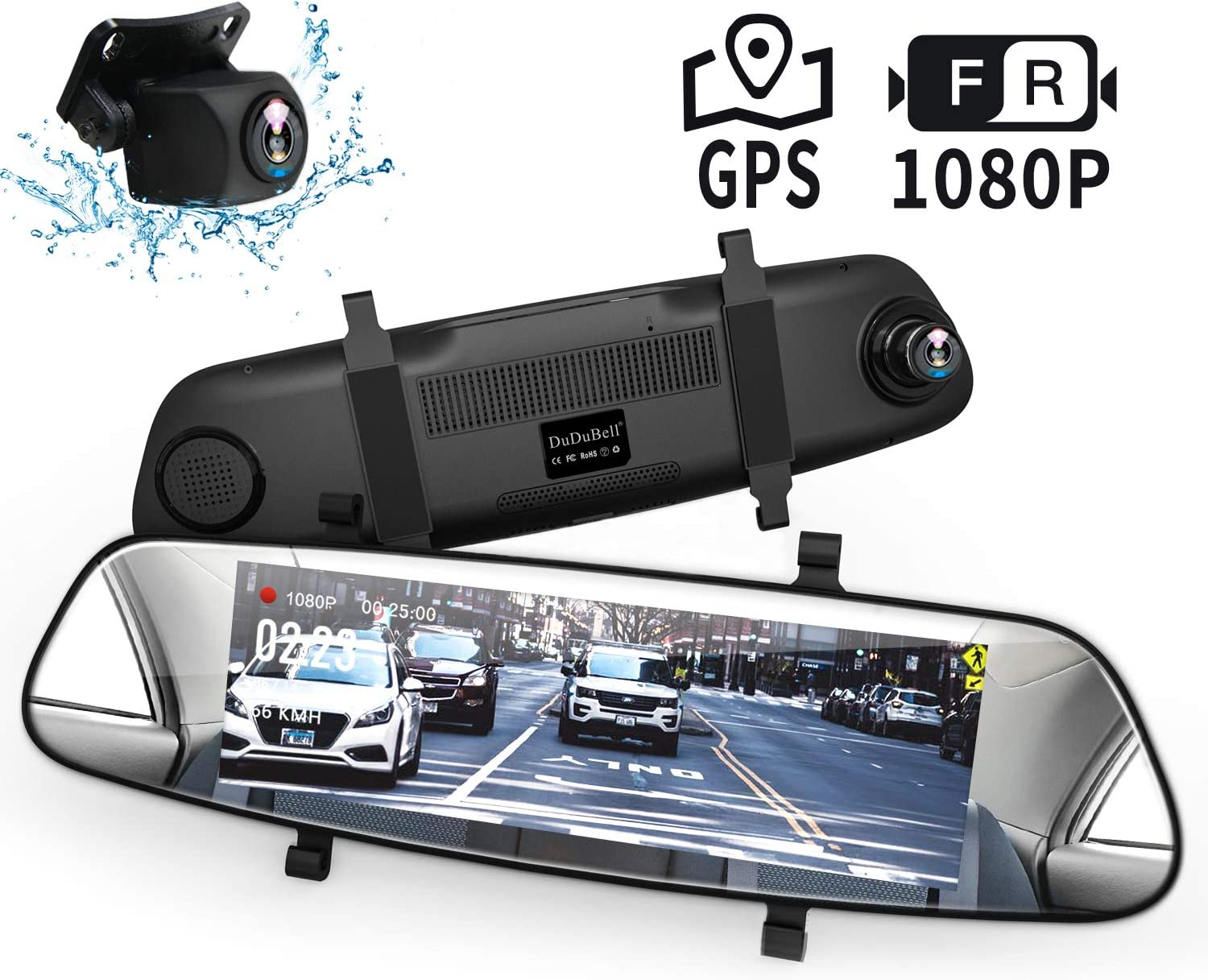 7-Inch Backup Camera with External GPS}