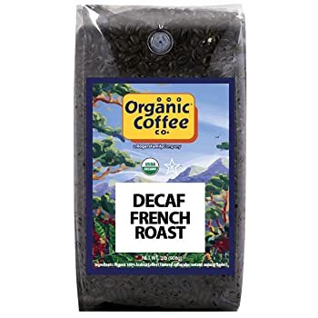 The Organic Coffee Co. Decaf French Roast Coffee