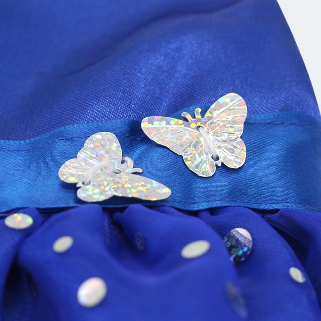 EBTOYS Sequins Sleeveless Party Dress for 18 Inch AG American Girl Dolls-Blue