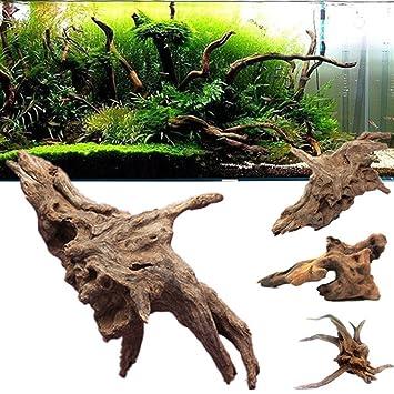 Driftwood Depósito de peces bajo el agua para acuario: Amazon.es: Productos para mascotas