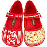 Hot Chocolate Design Mini Chocolaticas Popcorn Girls Mary Jane Flat