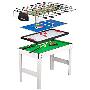 Games Table 4 In 1 4ft   Table Football, Pool, Table Tennis, And
