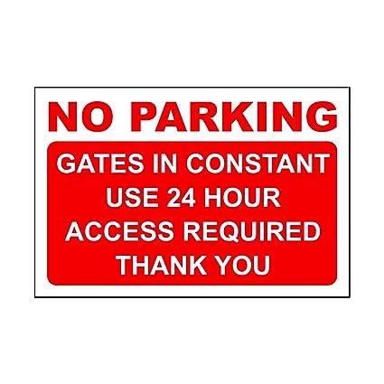 N1094 Ninguna señal de prohibido aparcar con no parque ...