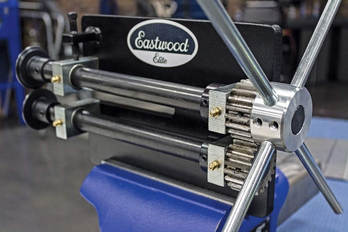 Eastwood Elite 8In Heavy Duty Bead Roller Durable Design 22Mm Shaft Create Panel Ribs Shape Edges Die Set Included