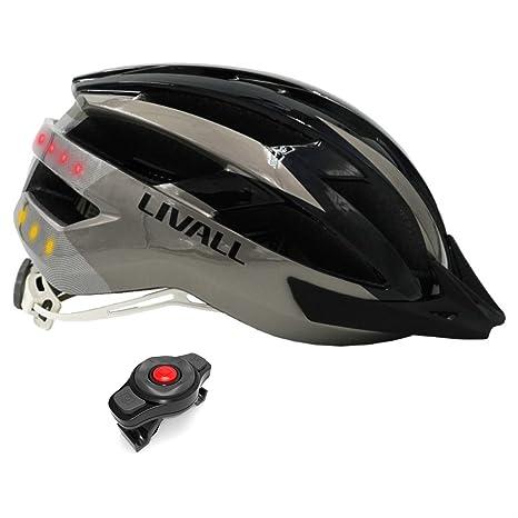 LIVALL MT1 Gris y Negro - Talla L: 58-62 cm. Casco de Bicicleta ...