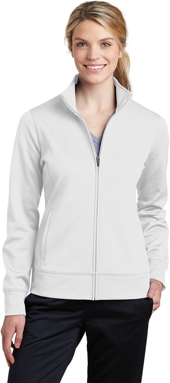 Sport Tek Womens Claasic Full-Zip Fleece Jacket