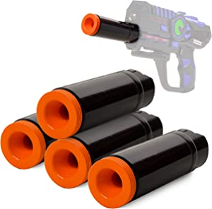 ArmoGear Laser Tag Indoor Accuracy Scope Set | at-Home Laser Tag Add On Accessory | Improves Indoor Use | Laser Battle Gift Set | Ages 8+
